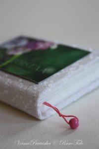 käsintehty muistikirja, valmistaja Tuulihelmi