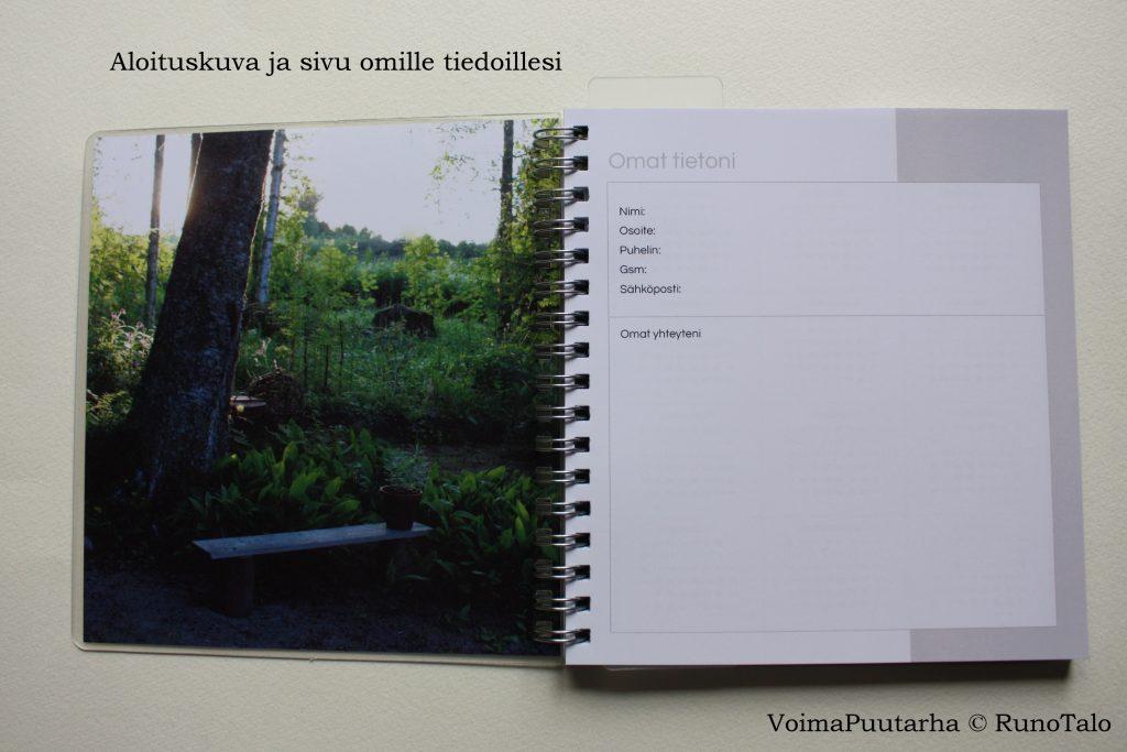 Polkukalenteri 2018 - Lakaisen voimapuutarhani runopolkuja - Runotalon voimapuutarha
