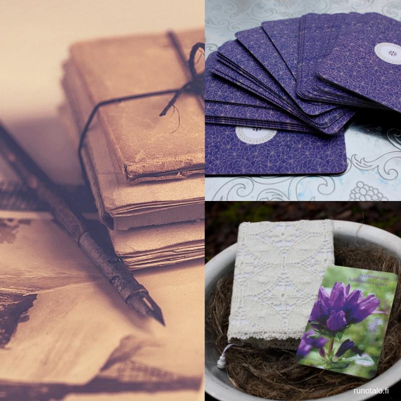 voimakorttien ja muistikirjan käyttö