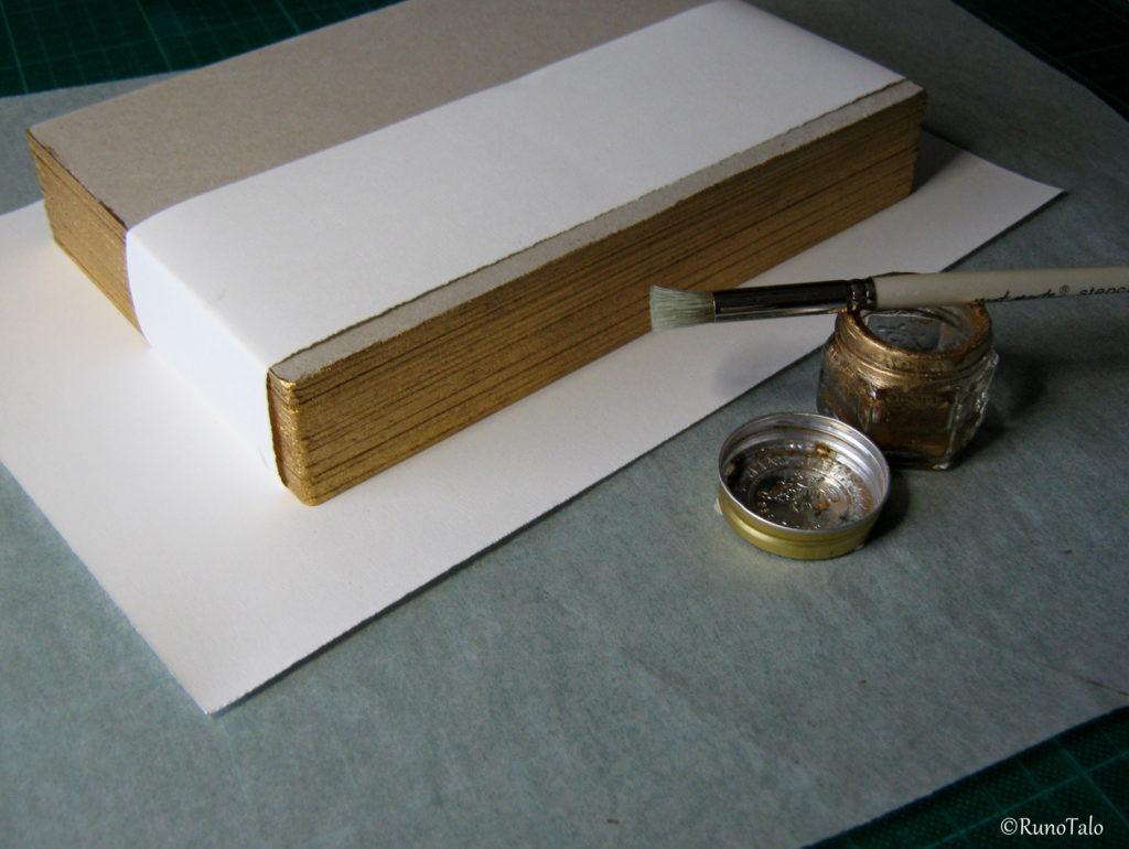 voimarunokirjan valmistus